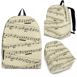 Sheet Music Backpack