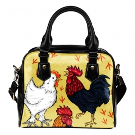 Art Chicken Handbag