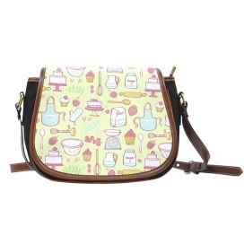 Baking Lovers Saddle Bag