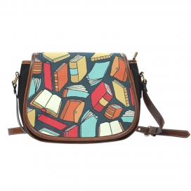 Book Lovers Saddle Bag
